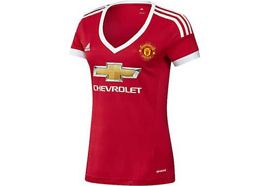 adidas Manchester United Womens Home Jersey. At SoccerPro now.