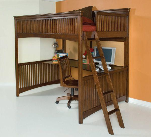 73 Best Loft Beds Images On Pinterest Child Room 3 4 Beds And Bunk Beds