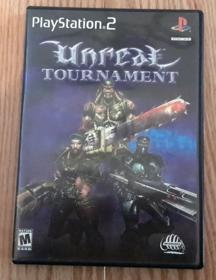 Unreal Tournament (Sony PlayStation 2, 2000) 742725216310 | eBay