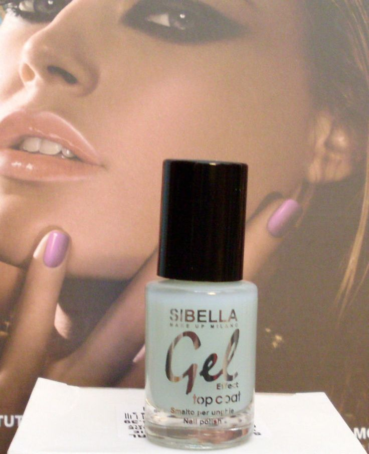 Top Coat Indurente Smalto Effetto Gel Semipermanente Unghie Made in Italy New