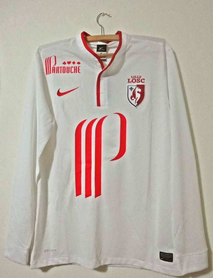 NEW Original LOSC LILLE France T-shirt Ligue1 Shirt Nike ORIGINAL TRIKOT