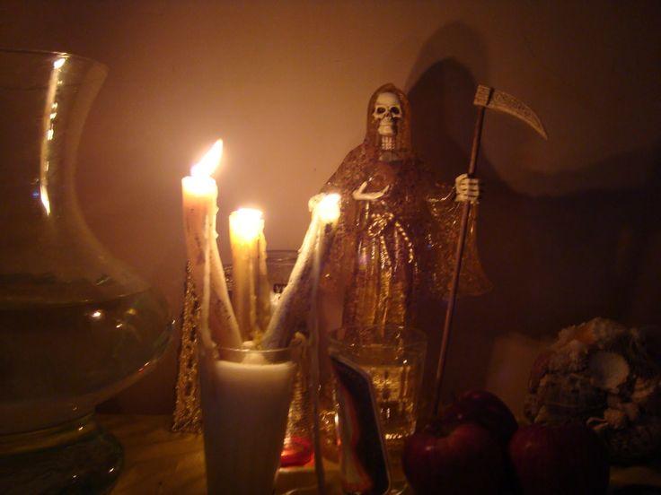 Oraciones a la Santa Muerte