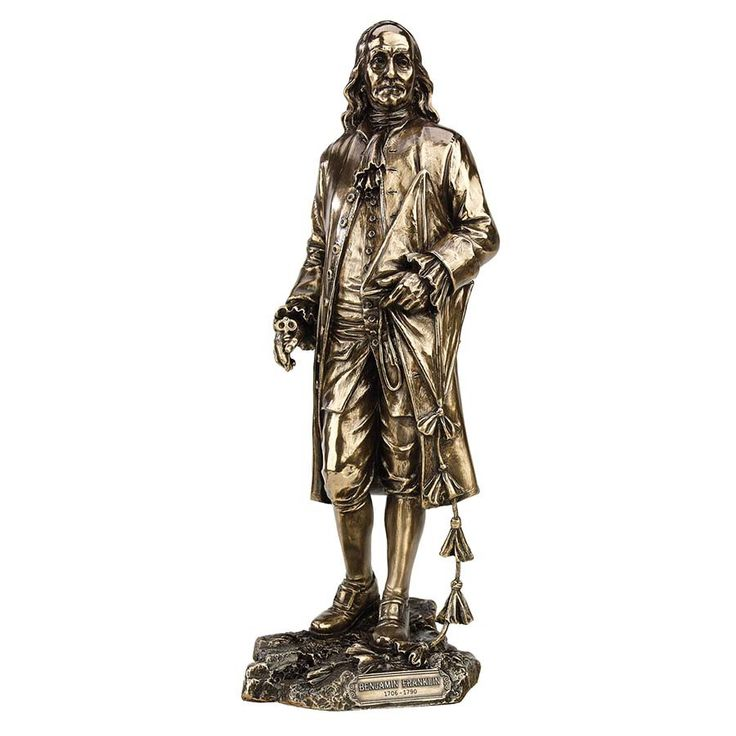 Park Avenue Collection Benjamin Franklin Statue