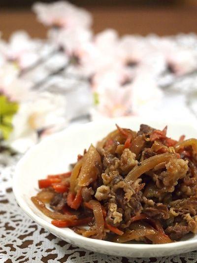 牛肉と玉ねぎの甘辛煮 by ゆずママさん | レシピブログ - 料理ブログの ...