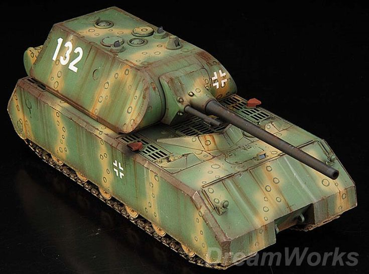German MAUS Super Tank!