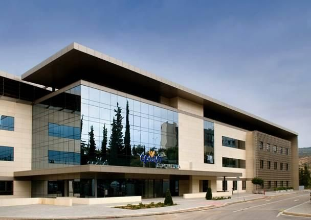 "The impressive ""Euromedica Health Center"" in Thessaloniki, Greece. Find out more about architectural superiority and constructural consistency in www.ekater.gr"