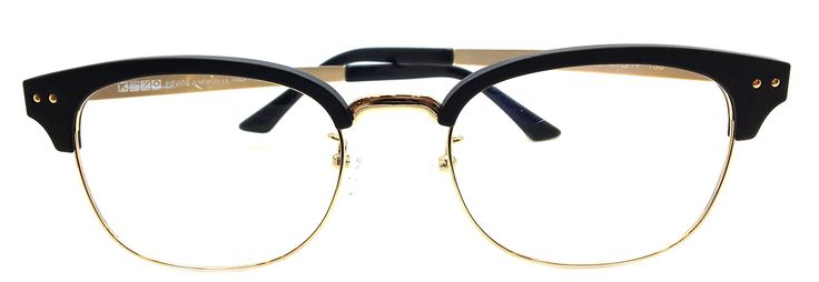 New Piovino Prescription Eyeglasses PV S-3000 Black Metal Ultem Frames. Metal Plastic Eyeglasses. Rxable Frames. Super Light. Super Strong.