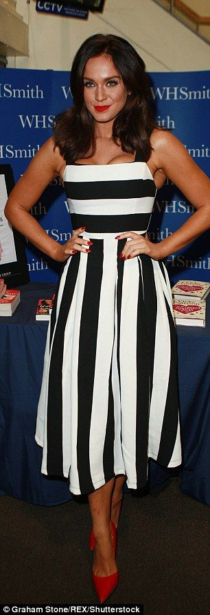 Slimmed down: She says her success came from the confidence boost...