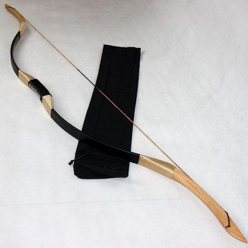 Black recurve bow 35Lbs