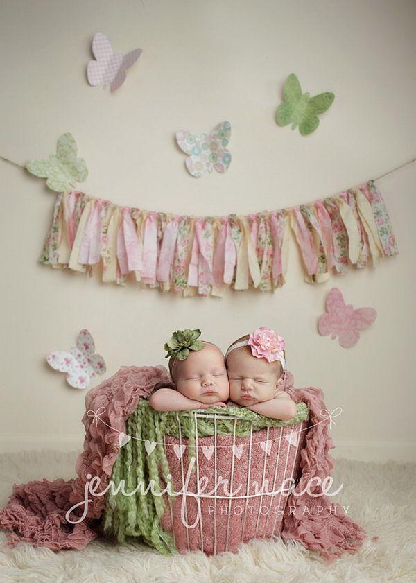 Beautiful newborn twins 23
