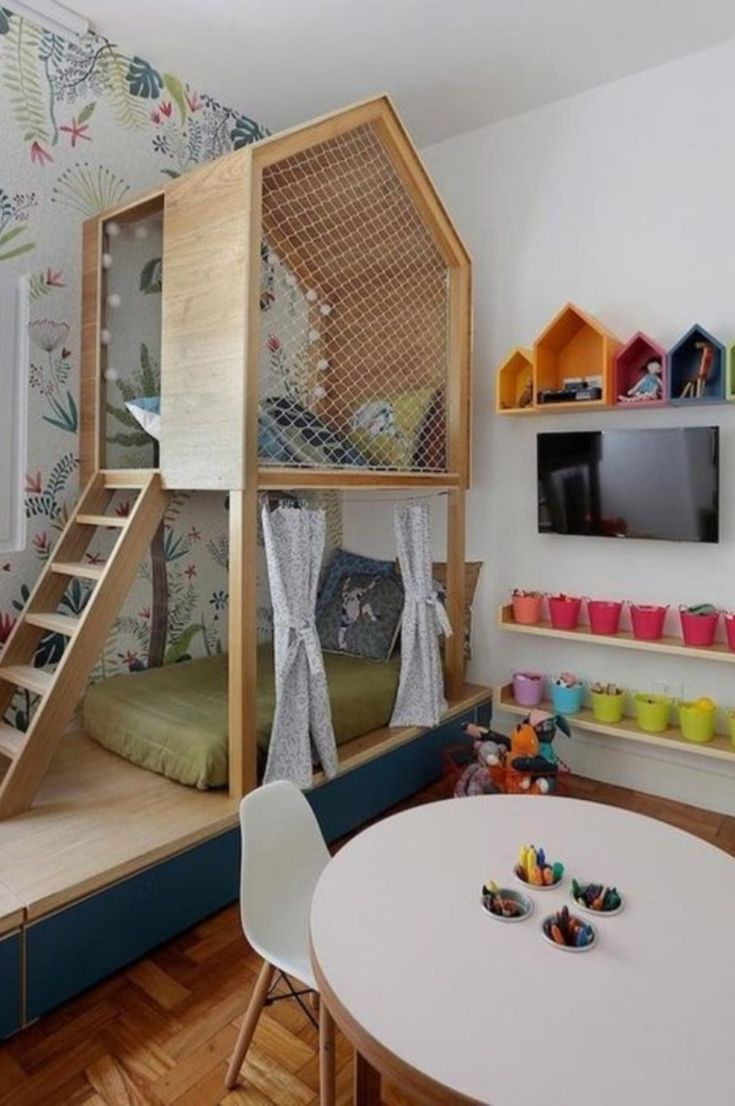 Bedroom Ideas For Each Child 30 Fabulous Room Ideas For Children Who Love Colors New 2021 Page 9 Of 30 Eeasyknitting Com Cool Kids Bedrooms Kids Room Organization Kids Room Interior Design