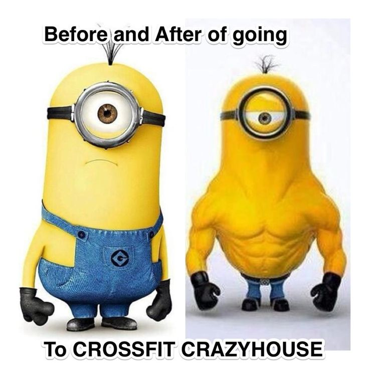 Crossfit minions before and after shots | Burpees suck ...