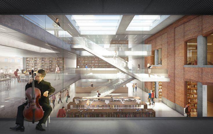Utopia | Utopia Aalst | Academie voor Podiumkunsten en Bibliotheek Aalst samen onder één dak