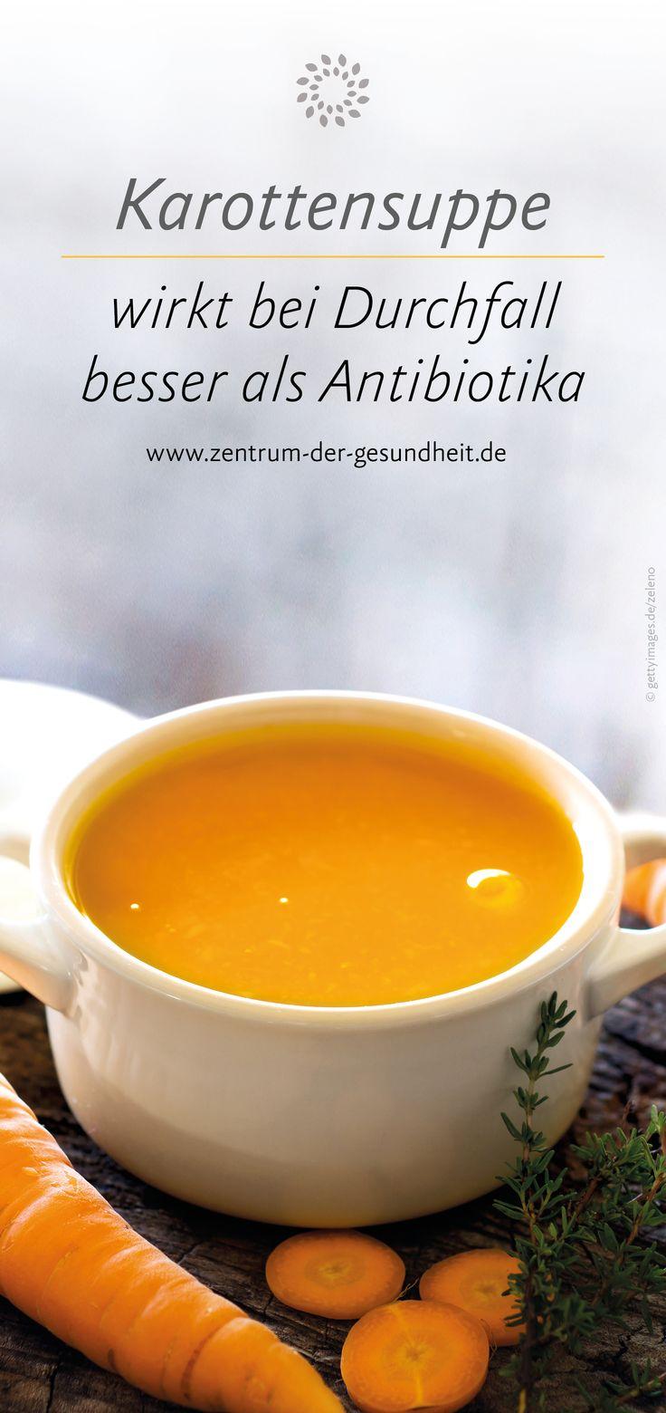 Karottensuppe wirkt bei Durchfall besser als Antibiotika Kitty