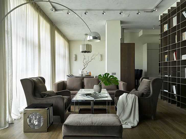 Stunning modern apartment in Moscow, Russia | PUFIK. Beautiful Interiors. Online Magazine