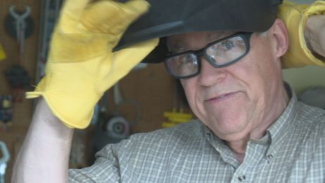 'Best year of my retirement': 70-year-old graduates from welding course