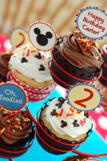 Mickey Mouse Birthday Party Ideas | Photo 2 of 13 | Catch
