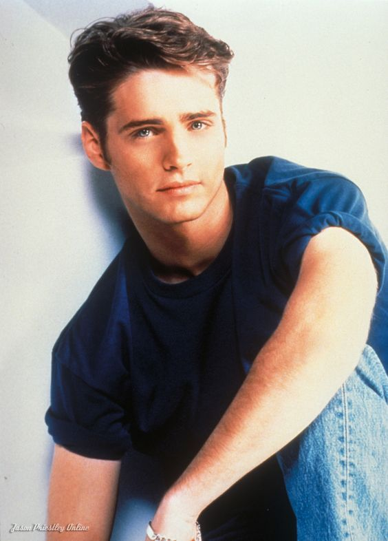 Jason Priestley as Brandon Walsh on Beverly Hills 90210. His character  beautiful inside and out