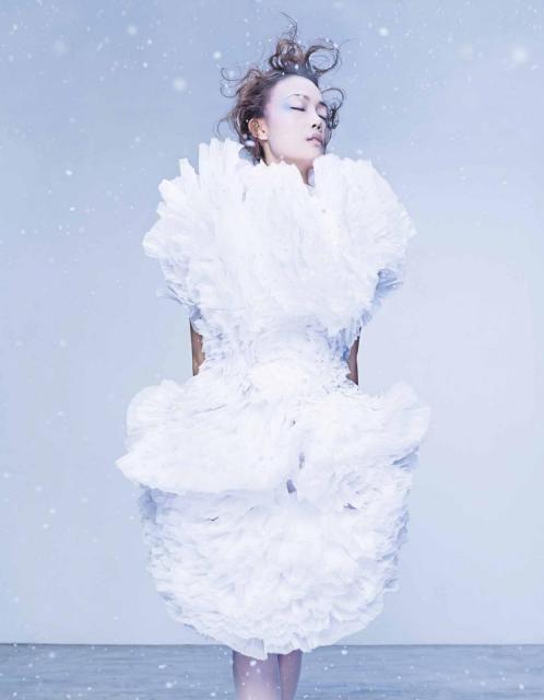 #robertswood #white #ss16 #digitalis Photography: Kaon   Guest Model: 容祖兒   Art Direction: Anson Lau & Ricky Lau     Styling: Anson Lau, assisted by Jan Li     Makeup: Ricky Lau Hair: Heibie Mok(Hair Culture)   Manicure: Pinky Ho