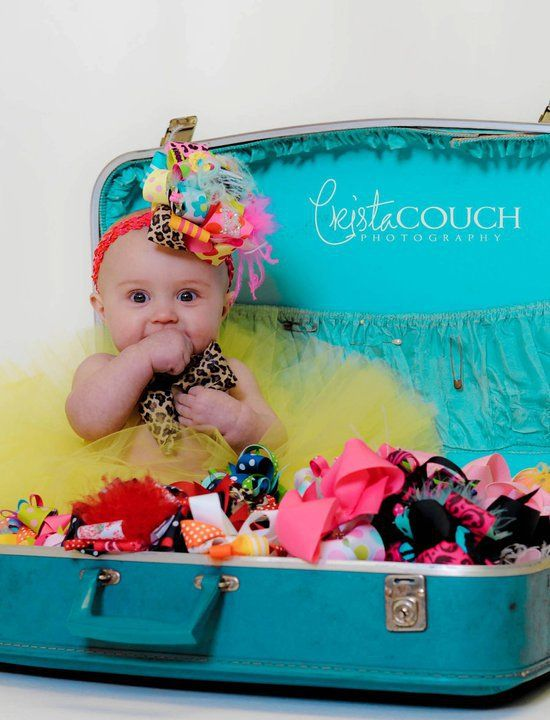 cute: Hairbows, Pictures Ideas, Baby Pics, Photo Ideas, Cute Ideas, Pics Ideas, Hair Bows, Baby Girls, Girls Surroundings