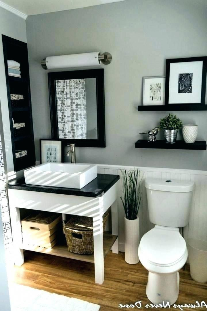 Silver And Black Bathroom Accessories