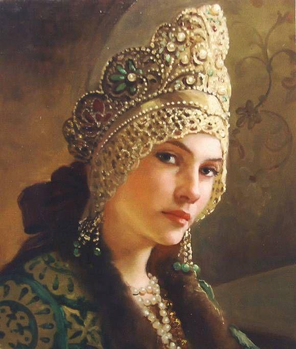 (Andrey Shishkin) - Боярыня, автор Шишкин Андрей. Артклуб Gallerix