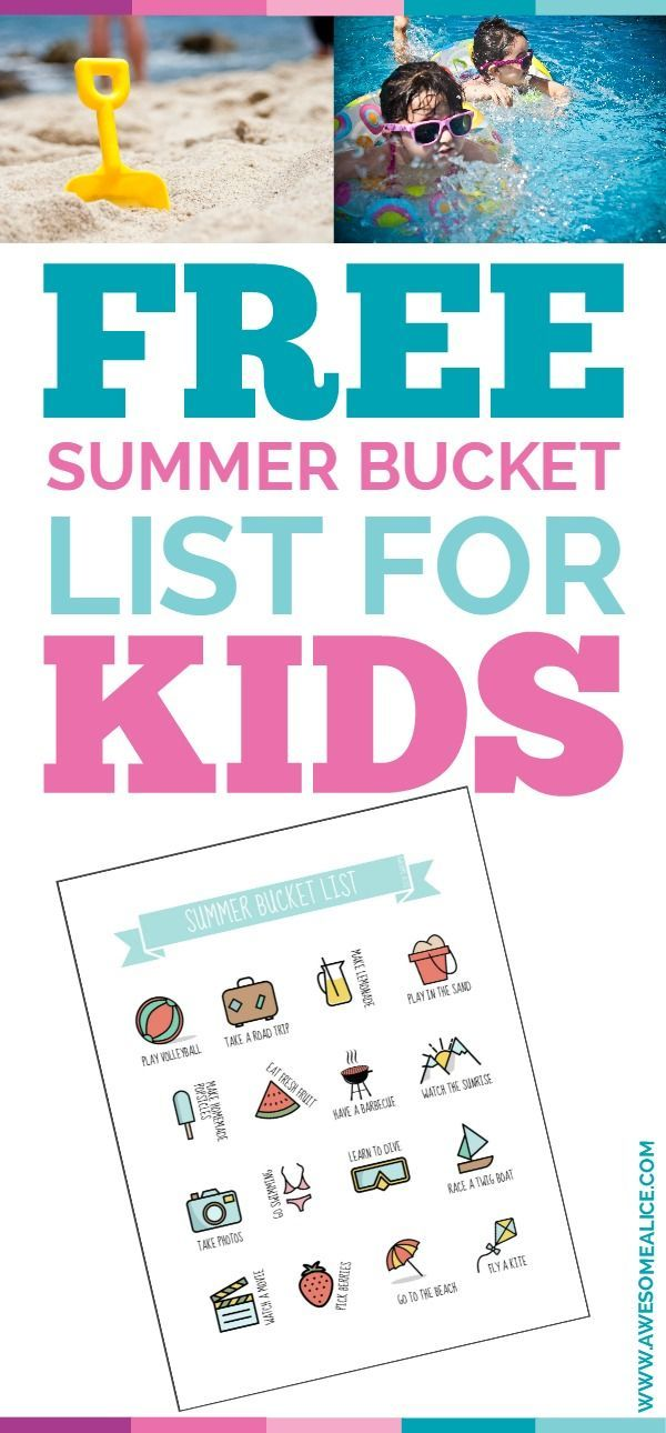"Are you struggling with keeping your kids busy in the summer? Are you tired of constantly hearing the phrase ""Mom, I'm bored?""  Then this bucket list is for you and your kids!  The bucket list is a fun way to keep your kids busy and active this summer. So what are you waiting for? Download it now and go have an awesome summer!"