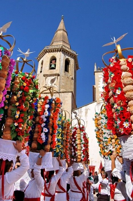 Festival of the Trays, Tomar, Portugal