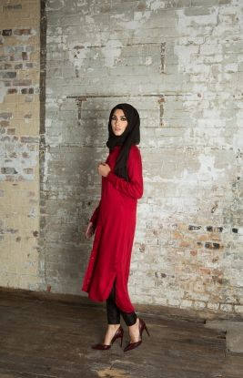 Shirt Dress - Rosso | Aab