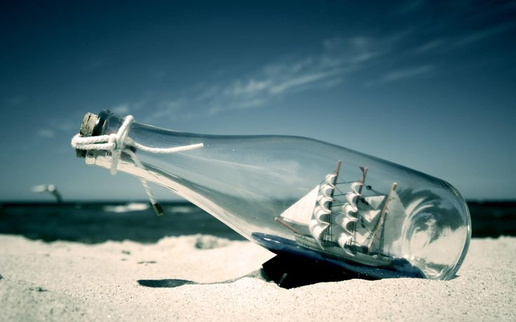 Ship in a bottle :)