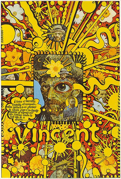Martin Sharp.    Martin Sharp designed   the Disraeli Gears and Wheels of Fire covers for Cream. (Martin Ritchie Sharp (21 January 1942 – 1 December 2013)[1] was an Australian artist, underground cartoonist, songwriter and film-maker.)