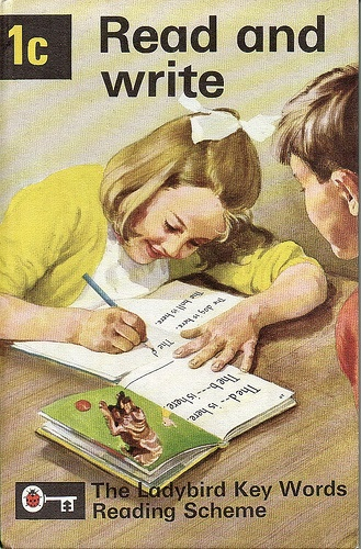 1C READ AND WRITE http://www.arranalexander.co.uk/keywords-peter-and-jane-641-vintage-ladybird-books-14-c.asp