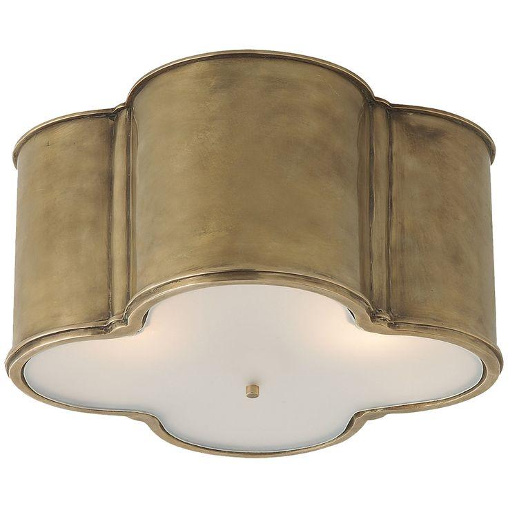 Visual Comfort Alexa Hampton Basil 3 Light 24-Inch Flush Mount