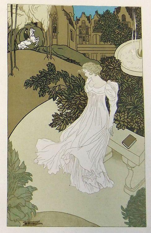 Georges de Feure, from L'Art Décoratif, 1899.