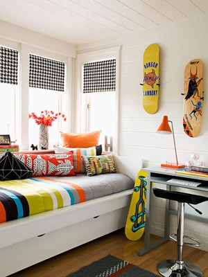 Boys room in a small space