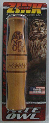 Night Owl - Owl Hooter Turkey Hunting Game Call - Zink Calls Nite   http://huntinggearsuperstore.com/product/night-owl-owl-hooter-turkey-hunting-game-call-zink-calls-nite/