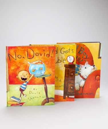 Take a look at this David Shannon Hardcover Set by Scholastic on #zulily today!