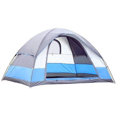 Semoo Semoo Water Resistant Lightweight 5 Person Tent with Carry Bag