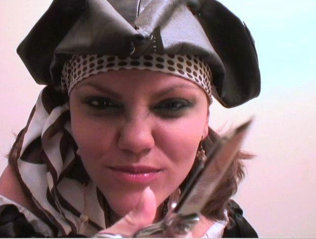Imagem de DIY Menina traje do Pirata HOW-TO