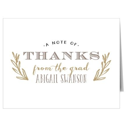 44 best Graduation Thank You Cards images on Pinterest - graduation thank you letter
