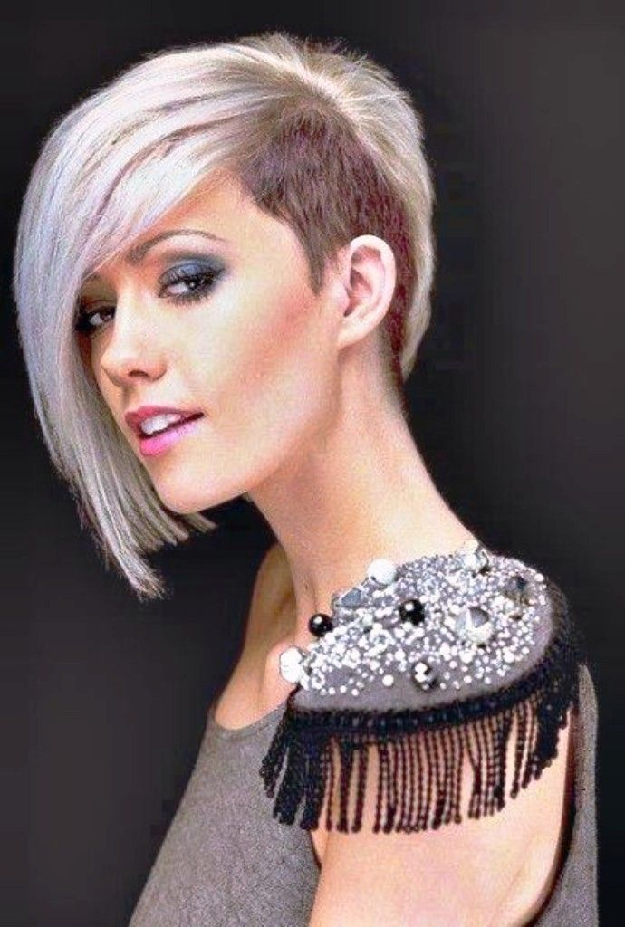 half shaved hairstyles for women                                                                                                                                                                                 More