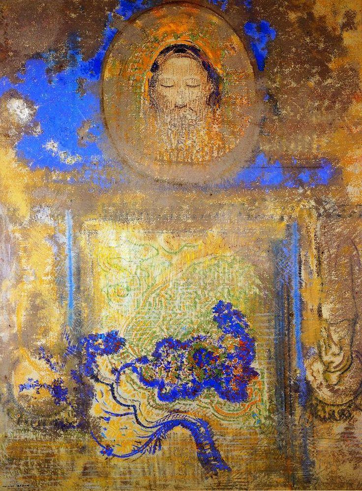 Evocation | Odilon Redon | oil painting