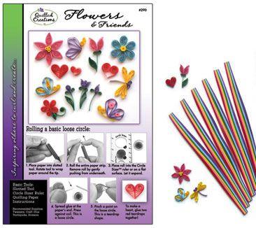 Quilling Kit : #290 Flowers & Friends