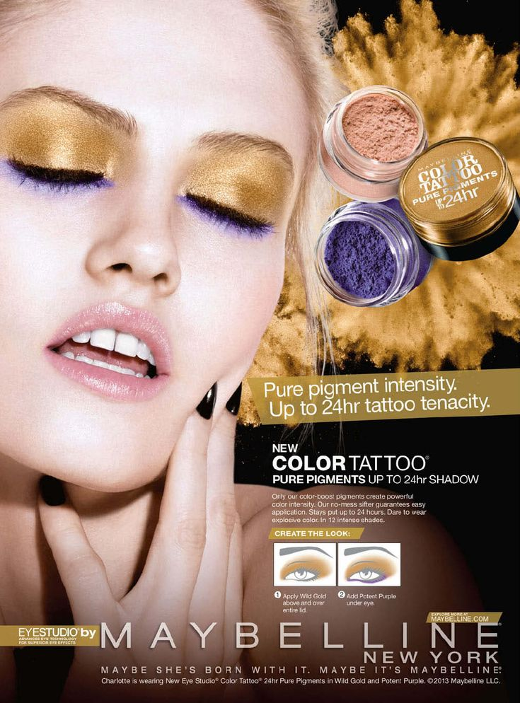 maybelline in 2020 Maybelline color tattoo, Maybelline