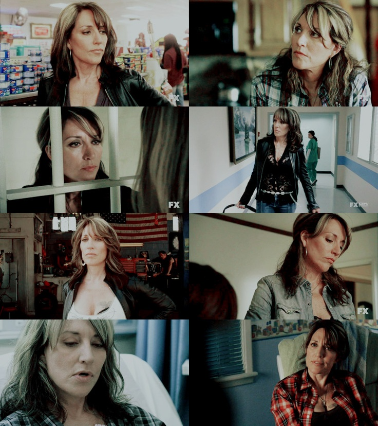 the best female character on tv! gemma teller-morrow! SONS OF ANARCHY