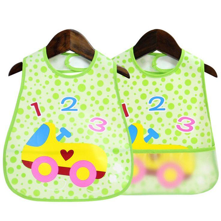 Bandana Bayi Bib Tahan Air Lucu Buah Anak Laki-laki Gadis Lunch Bersendawa Pakaian Perawatan Breastplates untuk Bayi Silikon Makan Handuk
