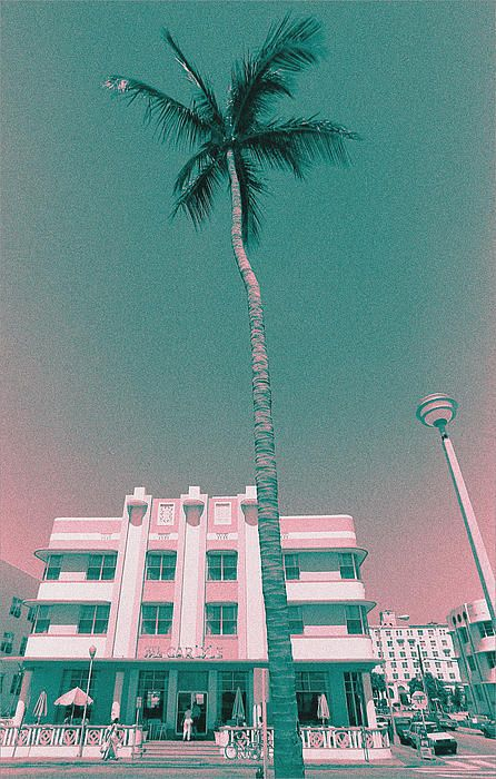 """The Carlyle Hotel, from my """"South Beach Art Deco"""" series.  Photo ©Steven Paul Hlavac. All rights reserved."""