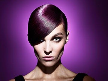 Hair and beauty retouch for Schwarzkopf Vibrance. Photographs by Simon Emmett. Retouching by Phil Jones.