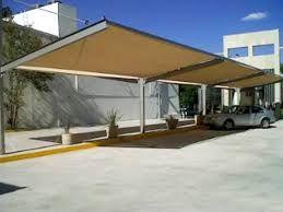 Resultado de imagen para malla sombra en COCHERAS