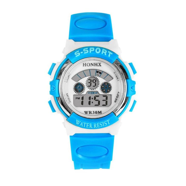 Children Digital Watch Kid Boy Girl Outdoor Baby Sport Watch LED Silicone Alarm Stopwatch Wristwatch Rubber Band HONHX OT10 #>=#>=#>=#>=#> Click on the pin to check out discount price, color, size, shipping, etc. Save and like it!